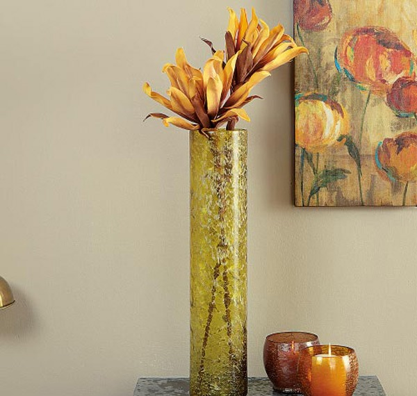 Vas Kaca Cantik untuk Menghiasi Interior Rumah Minimalis