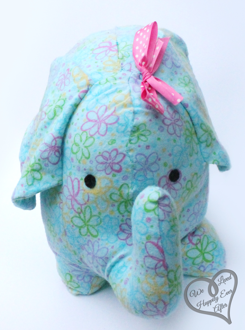 Make Your Own Stuffed Elephant We Lived Happily Ever After