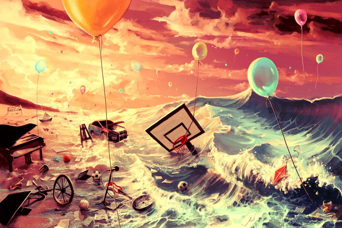 don  t trash your dreams by aquasixio d5clzyo - La Arquitectura del Sueño.