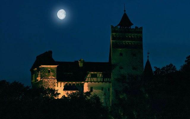 castelos assombrados, fantasmas, assombrações, castelo do drácula