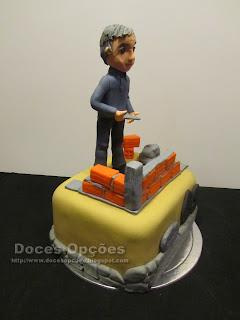 bolo aniversário trolha bragança