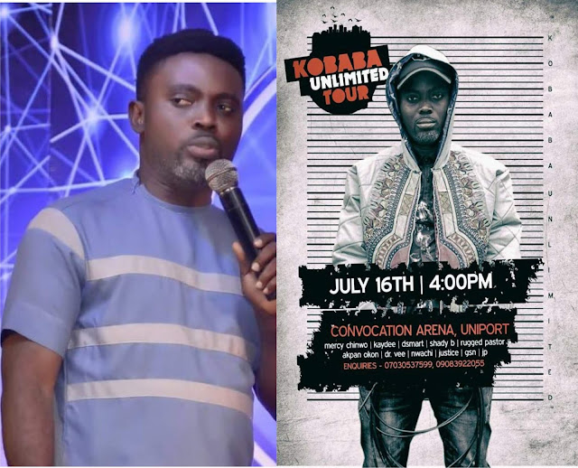 ' I will share my story at Uniport', KO Baba react to react to Facebook post made against Unlimited Tour