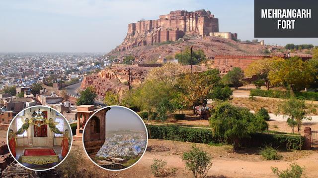 Mehrangarh Fort Grand Structure