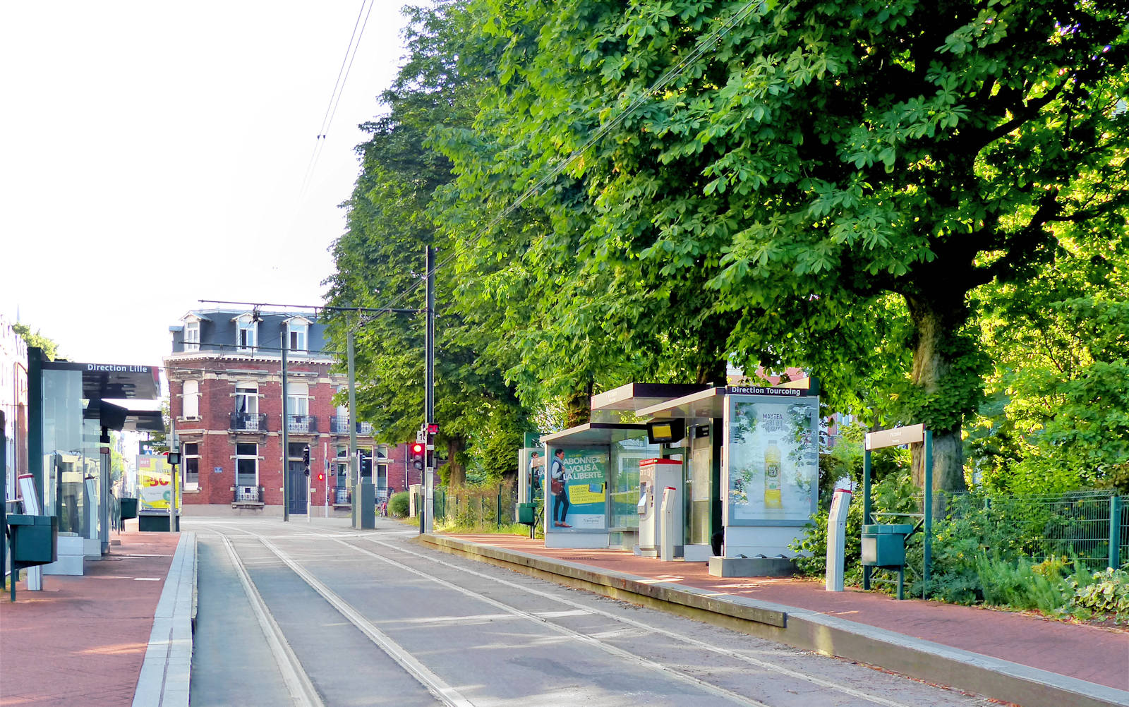 Tramway Victoire - Place de la Victoire, Tourcoing.