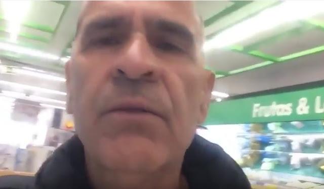 minipreço homem preso supermercado minimercado