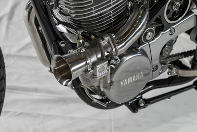Yamaha SR 400 Superpercharged