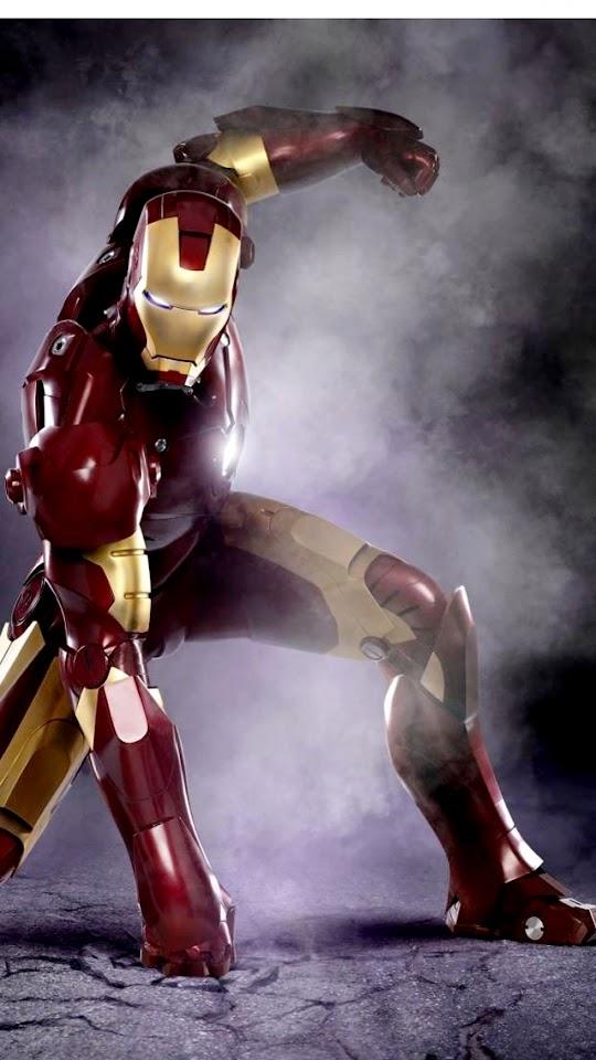 Iron Man Ground Fist  Galaxy Note HD Wallpaper