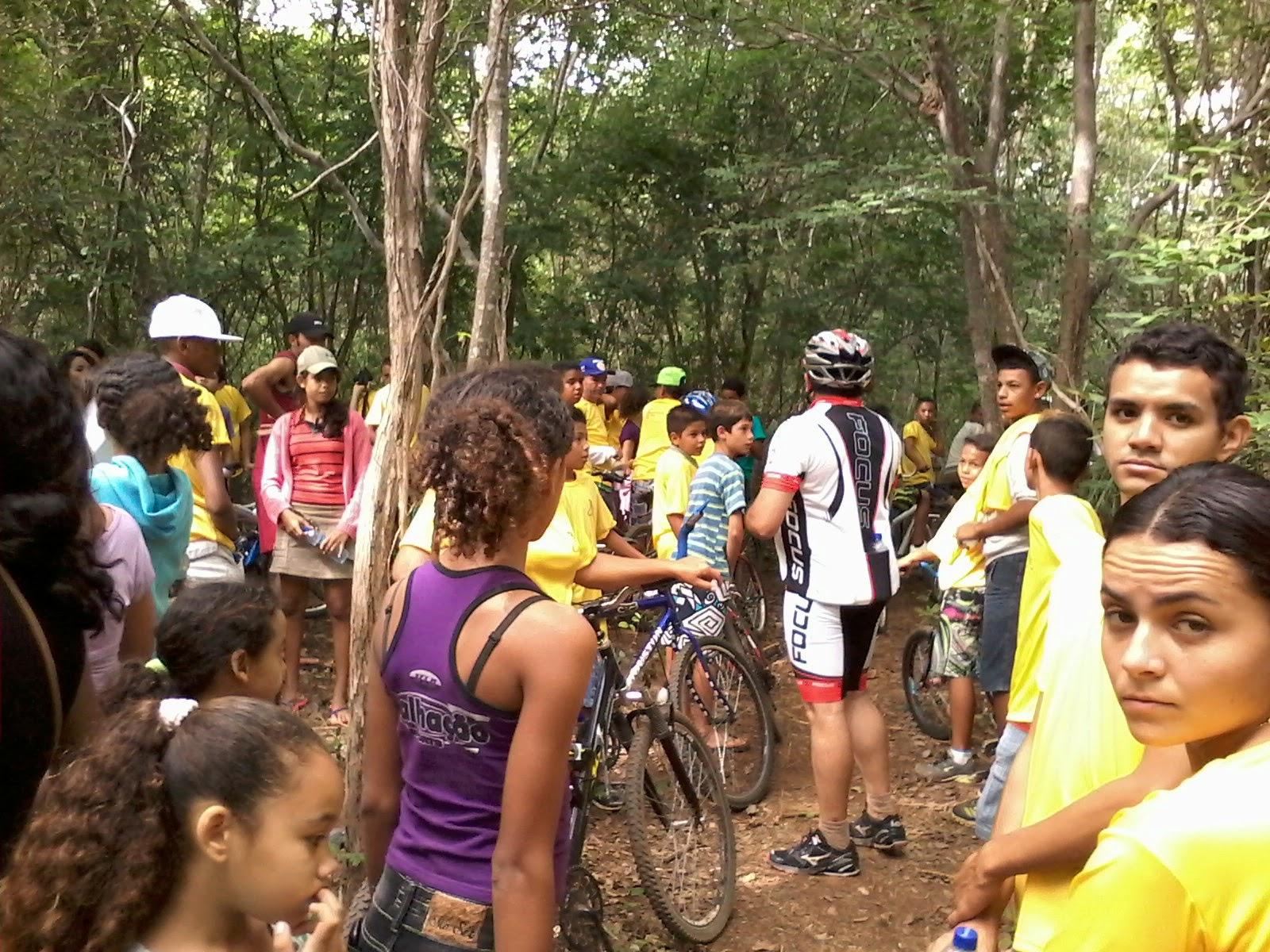 5d11c656717 Dia do Trabalho em Altaneira é marcado por passeio ciclístico e trilha  ecológica