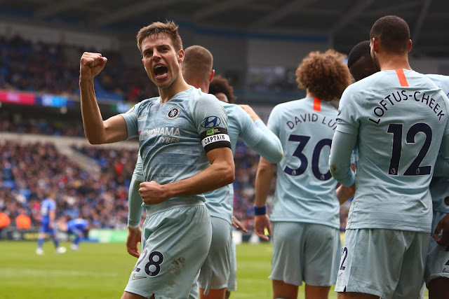 Cardiff 1-2 Chelsea: Slow, Laboured and Woeful. Despite a lucky three points.