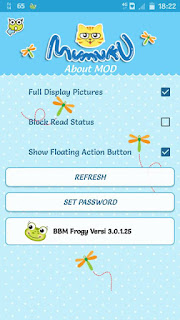 BBM Froqy Based version 3.0.1.25 By Mumuku May