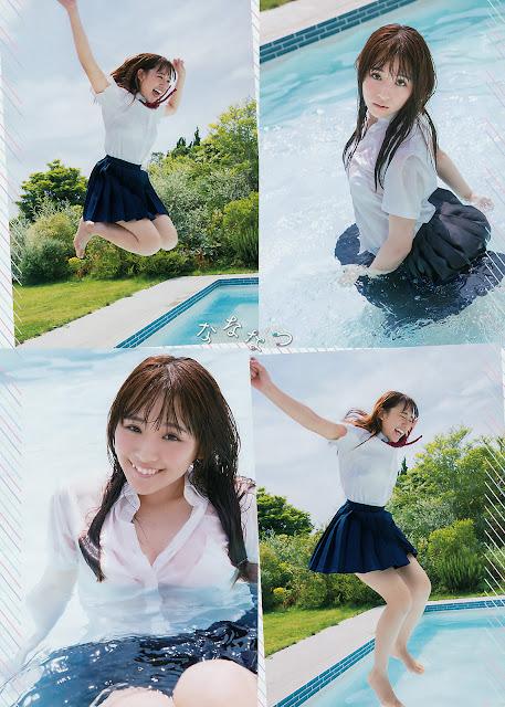 浅川梨奈 Asakawa Nana Big Comic Spirits No 35 2017 Pics