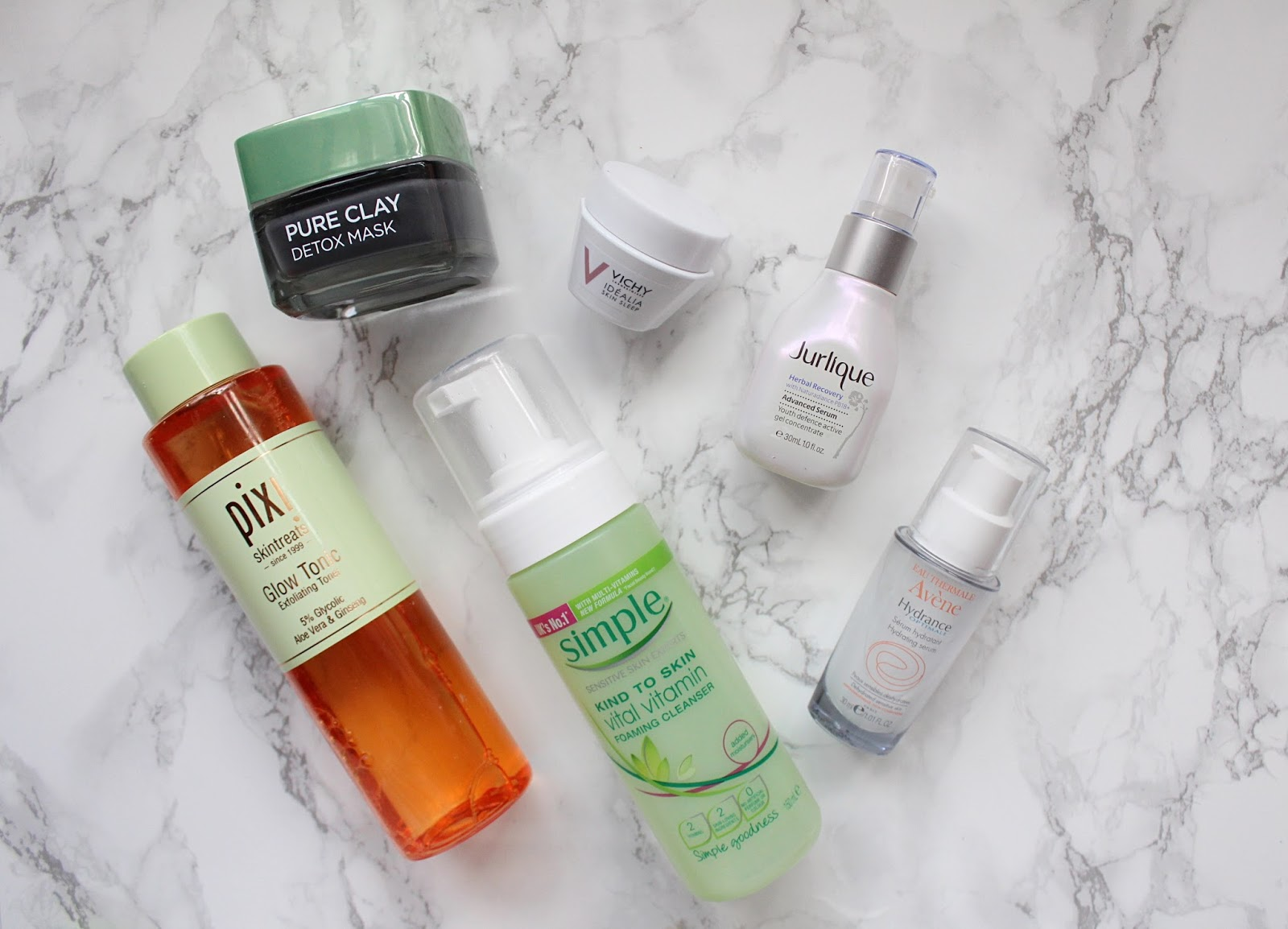 Current Favourite Skincare Products