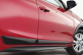 Faldones laterales deportivos Toyota Yaris