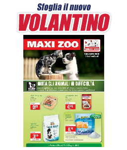 volantino maxi zoo galliate