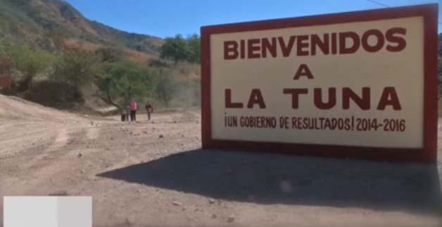 La Tuna de Badiraguato lugar que ha visto nacer a grandes capos