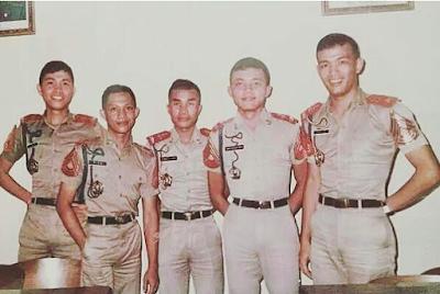 Foto Kapolri Jendral.Tito sewaktu msh taruna Akabri Kepolisian