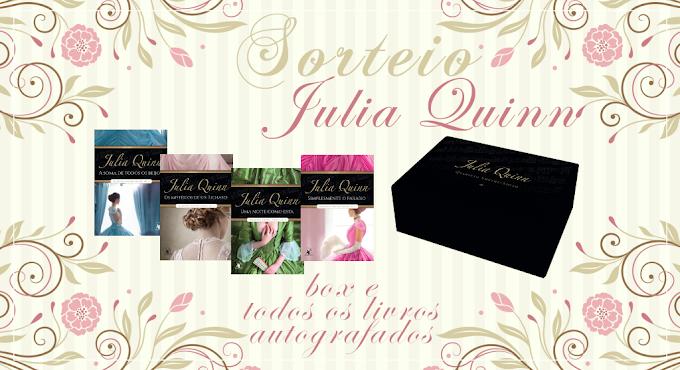 Promoção: Box Autografado da Julia Quinn