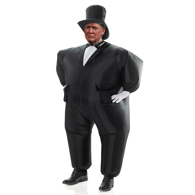 Funny Trump Onesie Picture