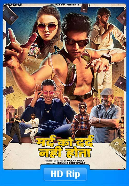 Mard Ko Dard Nahin Hota 2019 Hindi 720p HDTVRip x264 | 480p 300MB | 100MB HEVC