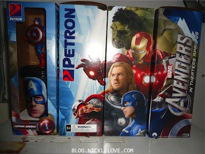 Petron's The Avengers Tumblers