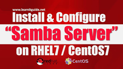 Install & Configure Samba Server on Linux