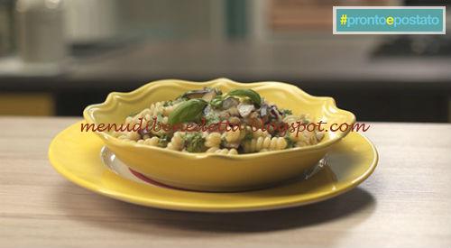 Pronto e postato - Fusilli con melanzane e ombrina ricetta Benedetta Parodi