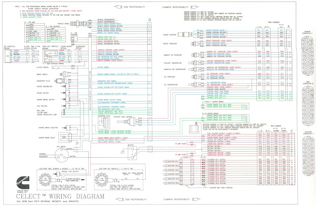 n14 cummins celect wiring diagram cummins n celect and celect plus
