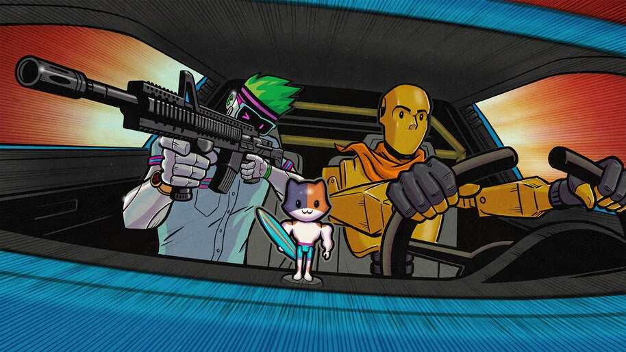 Fortnite, Chapter 2, Season 3, Loading Screen, I Call Shotgun, 4K, #5.2125