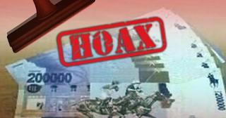Heboh Peredaran Uang Pecahan Rp 200 Ribu, Ternyata HOAX