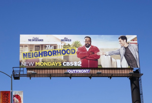 Neighborhood series premiere billboard