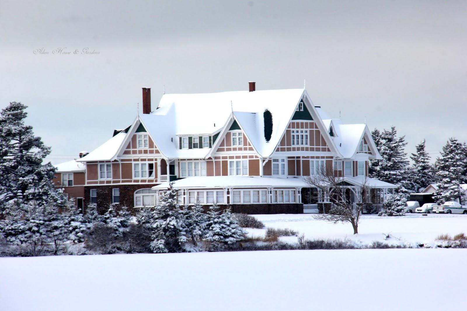 Aiken house gardens an island winter drive for Aiken house