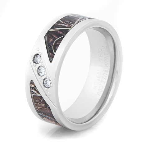 Cheap Camo Wedding Rings For Men