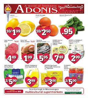 Adonis Flyer February 21 - February 27, 2019
