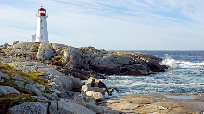 Wallpaper: The Lighthouse from Peggys Cove