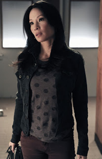 Lucy Liu as Joan Watson in Elementary Episode # 10 The Leviathan