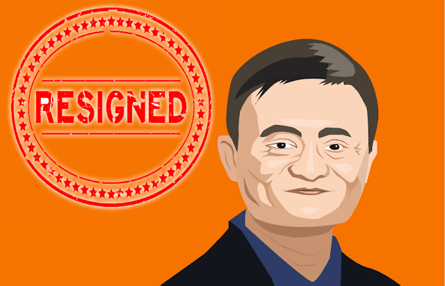 Jack surprised everyone and announced his resignation as president of Alibaba e-commerce company