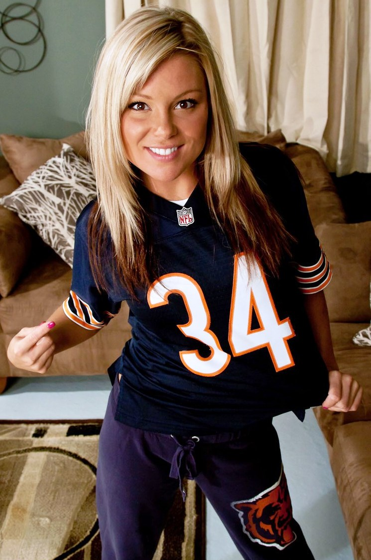 Beauty Babes 2013 Chicago Bears Nfl Season Sexy Babe -2288