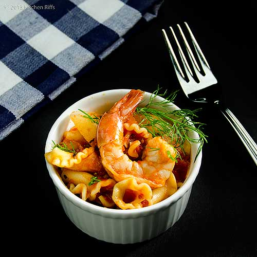 Pasta with Shrimp and Fennel