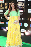 Sridevi Telugu Actressi in green Yellow Anarkali Dress at IIFA Utsavam Awards 044.JPG