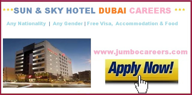 latest star hotel jobs in dubai with free visa