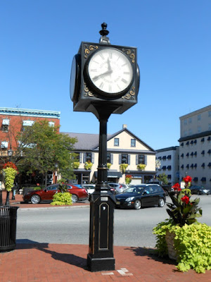 Gettysburg Town Clock on Lincoln Square in Pennsylvania