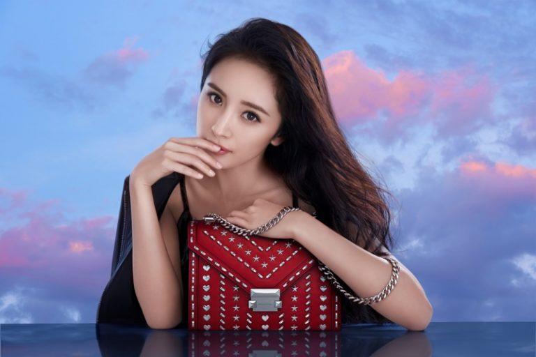 7e511f118f6a Michael Kors x Yang Mi Whitney Handbag Campaign