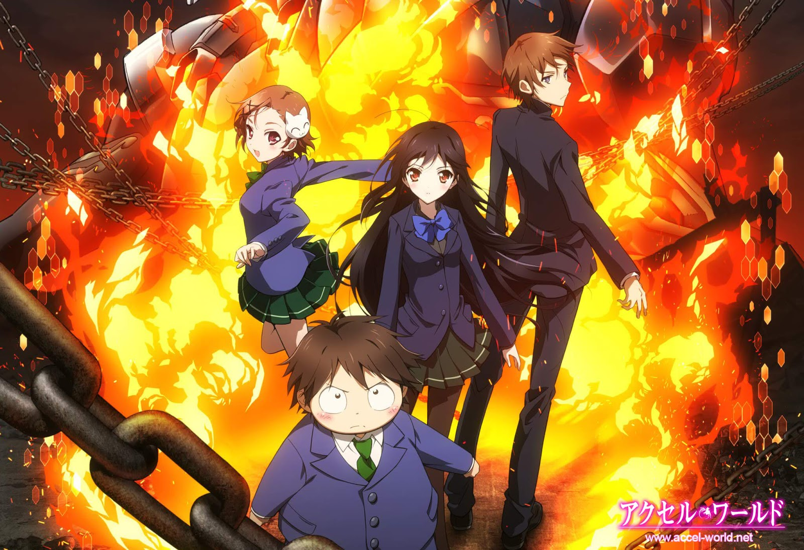 Download Accel World [BD] Sub Indo : Episode 1-24 END