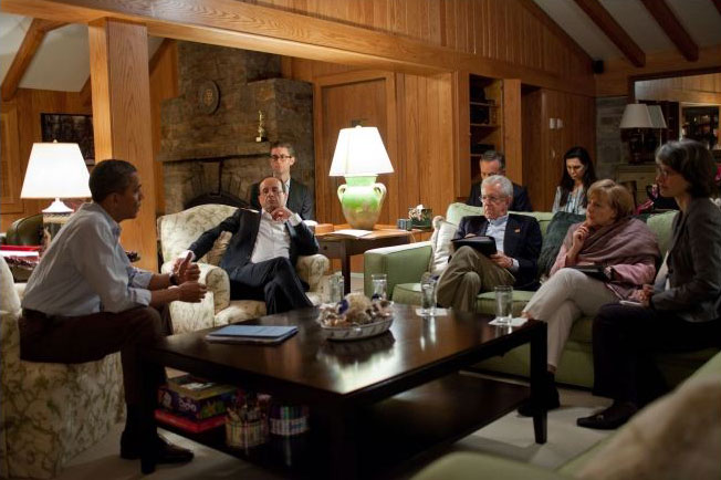 About camp david president obama at camp david for The aspen lodge