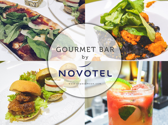 Where to Eat in Quezon City: Gourmet Bar by Novotel