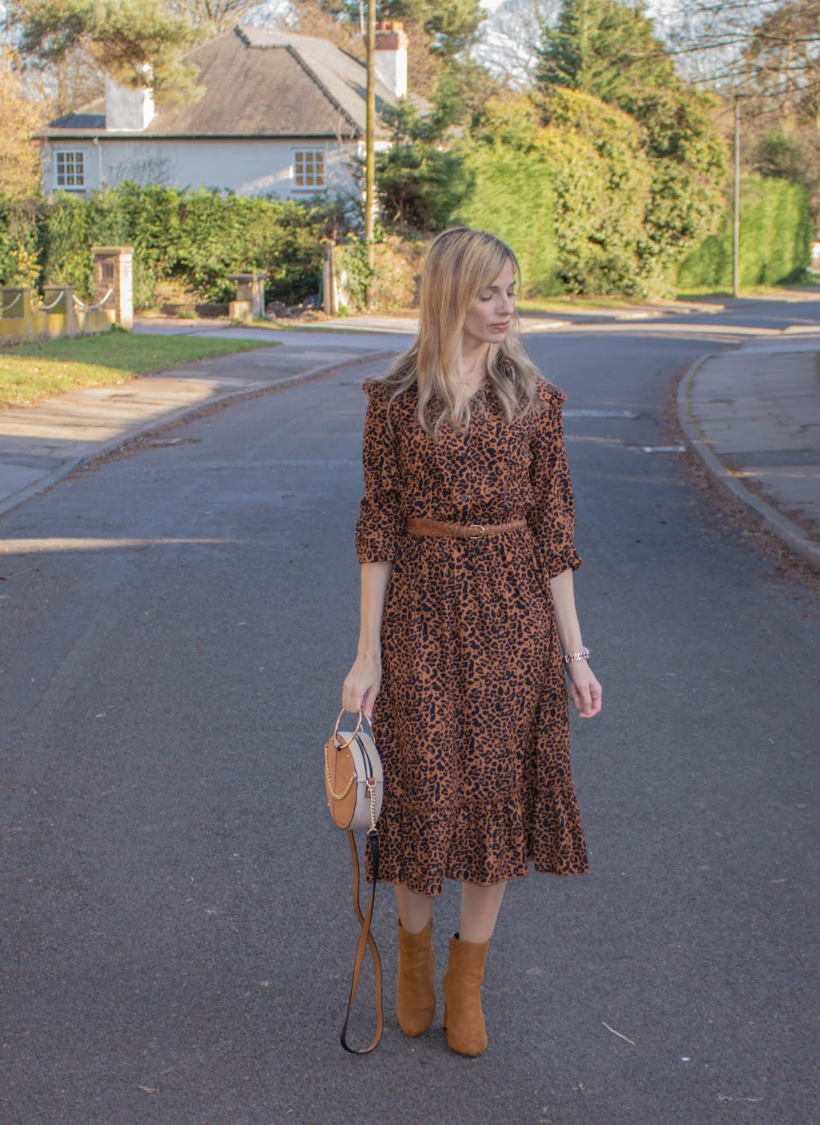 Leopard Print Dress From Pretty Little Thing