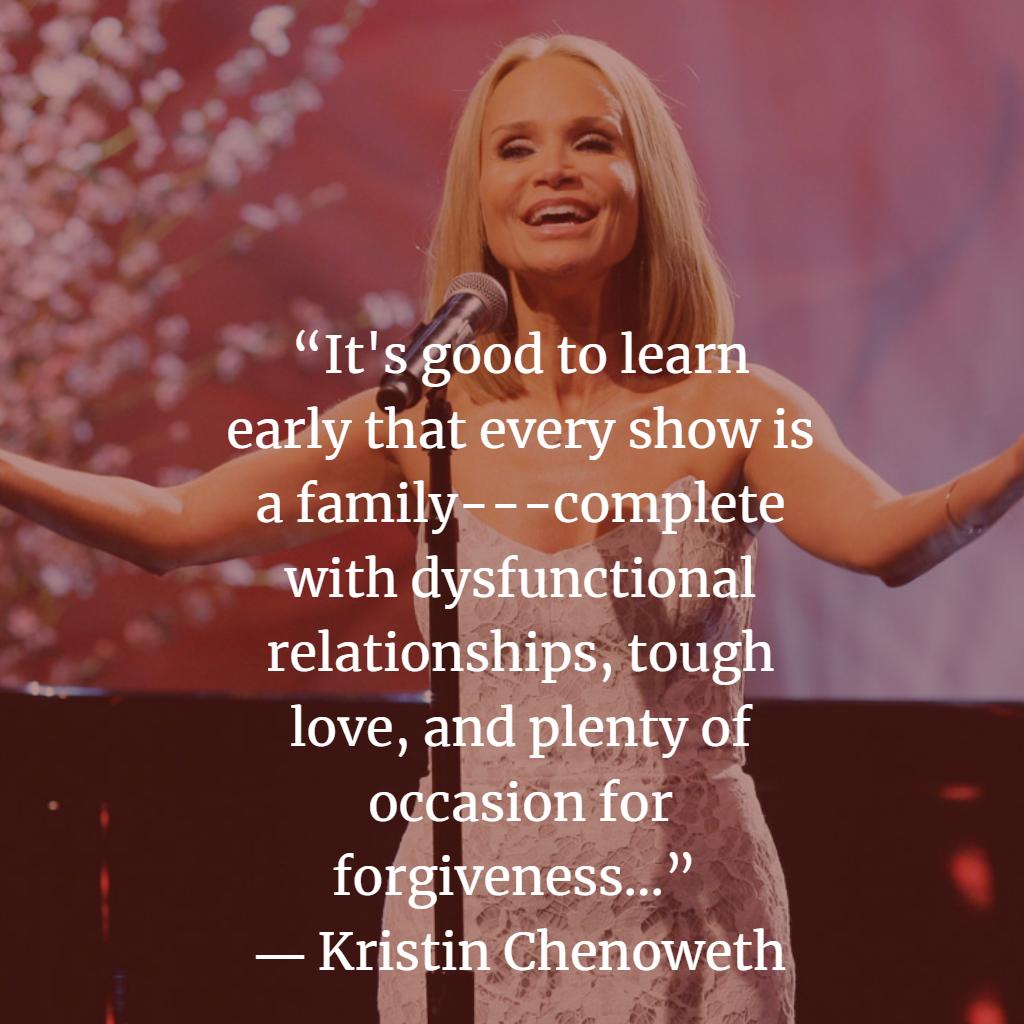 Top Kristin Chenoweth Quotes and Sayings
