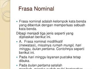 Frasa Nominal
