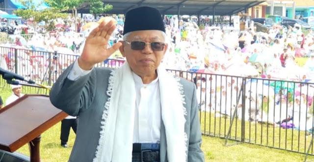 Kiai Ma'ruf Amin: Saya ini Kiai, Tukang Azan, Kok Dibilang Bakal Enggak Ada Azan