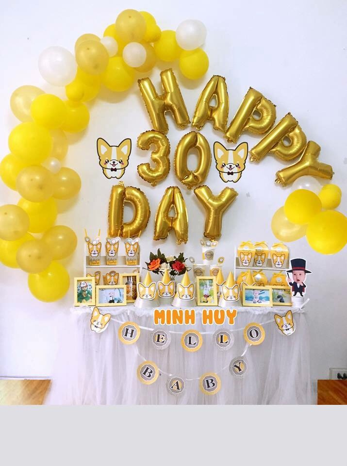 Bong trang tri day thang ch be tai Minh Khai